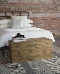 industrial style bedroom furniture. Baxter Round Blanket Chest - Warehouse Industrial Style Bedroom Furniture From Lombok I