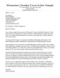 Teacher Assistant Cover Letter Samples Sample Teacher Assistant Cover Letter Cover Letter For Teacher