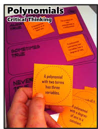 Teaching Critical Thinking in Middle and High School Math Classes