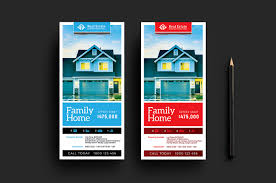 real estate templates for photoshop illustrator brandpacks real estate dl card templates
