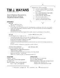 Stocker Resume Sample Resume Cv Cover Letter