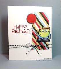 Birthday Card Sample Awesome HAPPY BIRTHDAY Card By Doni High Paper Smooches Halloweenies