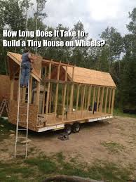 Small Picture QA How Long Does it Take to Build a Tiny House