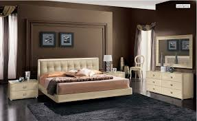cream contemporary bedroom furniture sets