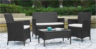 patio chair set of 2 hd metal patio table and 4 chairs for your plan