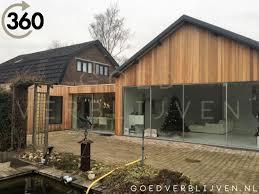 Voorzijde Houten Aanbouw Utrecht Xl