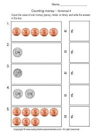 Counting Like Coins Worksheets Worksheets for all | Download and ...