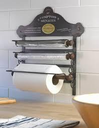 kitchen towel holder wall mounted. Wall Mounted Kitchen Roll Holder - Storage Racks Homeware Shop Towel O