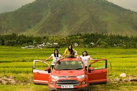 photo of 3 women mission kanyaari to kashmir by car by sunita dugar