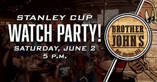 roadrunners to hold stanley cup watch party at brother john s
