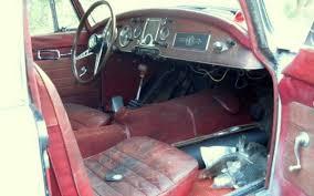 low slung project 1960 mga 1600 coupe mga 1600 coupe interior