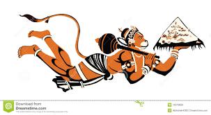 Hanuman Stock Illustrations – 1,745 ...