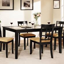 tall dining room sets. Weston Home Tibalt Black Dining Table - 60 In. Tall Room Sets