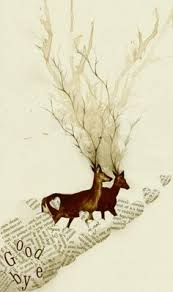 deers and books my 2 fav things in the world