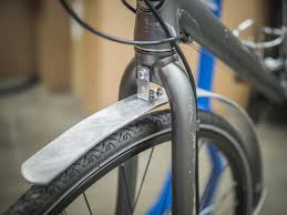 mount the l bracket and fender to the fork crown