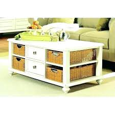 side table with baskets nightstand drawers wicker enterprise furniture storage white coffee tables