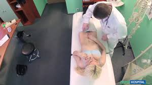 Lucy Shine Shy patient squirting soaking pussy Fake Hospital.
