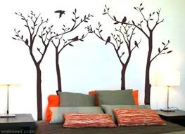 wall art bed room wall paint design