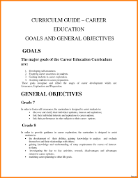 Examples Career Objectives 12 Isipingo Secondary