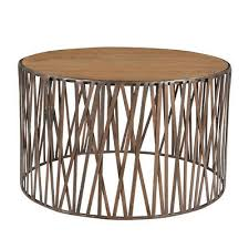 30 w coffee table round solid wood top