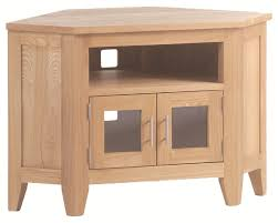 small corner tv cabinet rushden solid oak furniture small