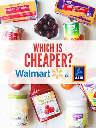 Which Is Cheaper Walmart Vs Aldi Dont Waste The Crumbs