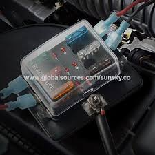 china universal 6 way fuse box block fuse holder box car vehicle iPhone Charger Box china universal 6 way fuse box