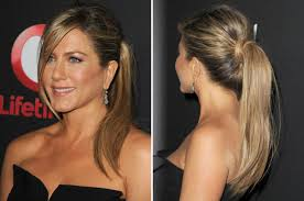 Jennifer Aniston Hair Style saturdaynight hair howto try out jennifer anistons sidebang 2123 by wearticles.com