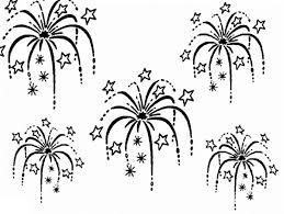 Small Picture beautiful sky with 4th of july fireworks coloring page fireworks