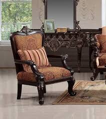 Traditional Chairs For Living Room Homey Design Hd 450 C Traditional Chair