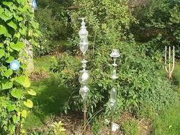 garden totems gl totems in the garden ceramic garden totems