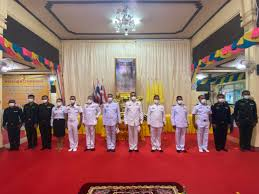 28 ก.ค.63 นพค.41ฯ จัดกำลังพล  ร่วมกิจกรรมเฉลิมพระเกียรติพระบาทสมเด็จพระเจ้าอยู่หัว  เนื่องในโอกาสวันเฉลิมพระชนมพรรษา 28 กรกฎาคม 2563 ณ วัดประชุมชลธารา  ต.สุไหงปาดี อ.สุไหงปาดี จ.นราธิวาส