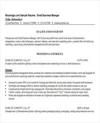 Sample Resume Business Owner 30 Business Resume Templates Pdf Doc Free Premium Templates