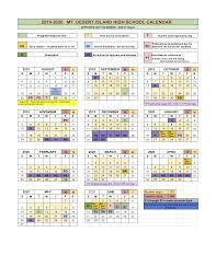 Academic Calendar 2020 17 Template 2019 2020