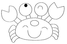 Coloriage Crabe Mignon Imprimer