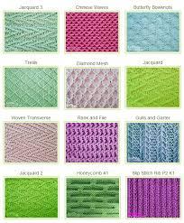 Knitting Stitches Patterns Inspiration Slipped Stitch Patterns Knitting Stitches And Patterns Pinterest