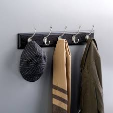 Wall Mounted Hat And Coat Rack Franklin Brass Coat And Hat Wall Mounted Coat Rack Reviews Wayfair 62