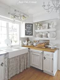 Modern White Country Cottage Kitchen Best 25 Kitchens Ideas Only On Throughout Creativity