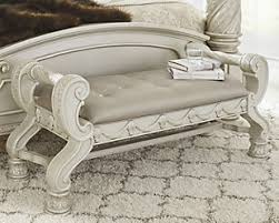 Bench for bedroom Farmhouse Large Cassimore Upholstered Bench Rollover Ashley Furniture Homestore Bedroom Benches Ashley Furniture Homestore