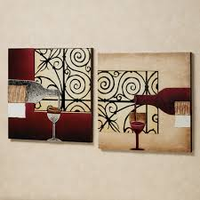 wine wall decor  decorating ideas