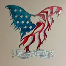 crafted in the usa uv protected clear coat finish made from 14 gauge sheet metal unique production ensures no two pieces are identical on american bald eagle metal wall art with american bald eagle wall hanging art metal silhouette wall decor