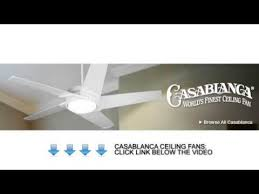 casablanca ceiling fans casablanca combines utility and elegance in one