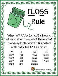 The Floss Rule Make Take Teach