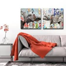 clay alder home saddle ink elephant vi canvas wall art set on spiritual canvas wall art with spiritual canvas art find great art gallery deals shopping at