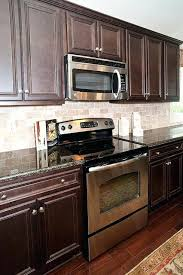 backsplash for dark countertops if i only had that this would be my kitchen backsplash ideas