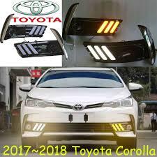 2017 Toyota Camry Led Fog Lights Us 17 1 5 Off 2017 2018year Corolla Daytime Light Free Ship Led Corolla Fog Light Camry Reiz Cruiser Hiace Innova 86 Tundra Venza Tercel Supra In