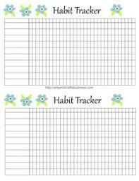 Daily Goal Tracker Daily Habit Tracker A Printable Goal Tracker I Could Do This