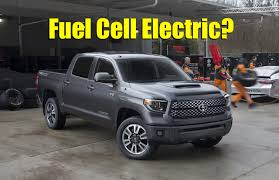 Would You Buy a Hydrogen Fuel Cell Electric Toyota Tundra Pickup ...