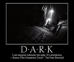 Dark Quotes Impressive Doctor Who Quotes Quote I Like Walking Through The Dark
