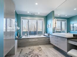 modern bathroom colors 2015. exquisite modern bathroom in gray and turquoise [design: interior intuitions] colors 2015 f